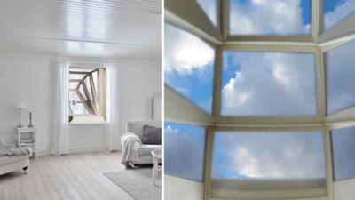 將藍天白雲搬進屋內!歪斜窗戶讓蝸居擁有一片天