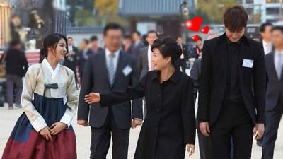朴槿惠總統保鑣竟然這麼帥!但怎麼有點眼熟