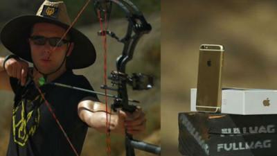 有天逛街時被弓箭射,你的唉鳳6S能保護你嗎?