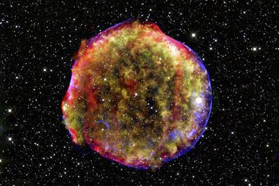 超新星前身現形 求證宇宙膨脹