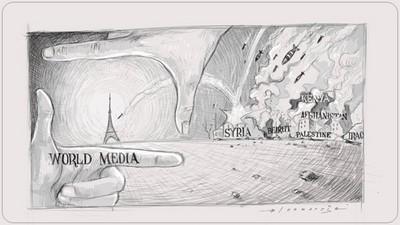 法國人的命比較高貴?畫家畫出全球媒體犯的錯