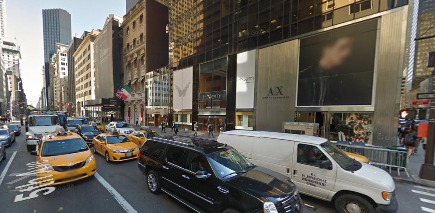 ▲紐約第五大道上段街景。(圖/翻攝自GoogleMap)