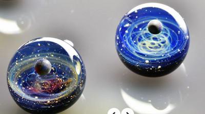 會看到入迷的宇宙玻璃珠 將全星系收進掌心