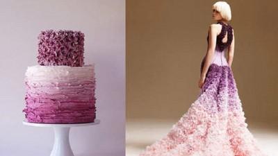 華麗禮服變身美味甜點?這些設計讓姐越看越餓...