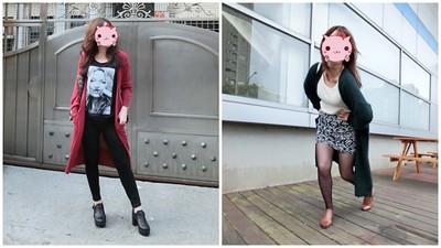 【捲喵穿搭日誌】顯瘦又顯高!嬌小肉肉女長版外套穿搭術
