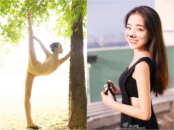 廣藝校花李雪「一字馬」疑露點走紅 被爆自封最美身材