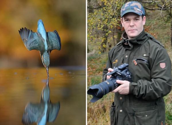 他用6年狂拍72萬次翠鳥入水 只為完美一刻原因超洋蔥