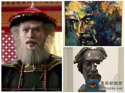 三級片教父徐錦江秀藝術細胞 北京設美術展作品好屌!