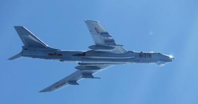 陸11軍機接近沖繩 日自衛隊戒備