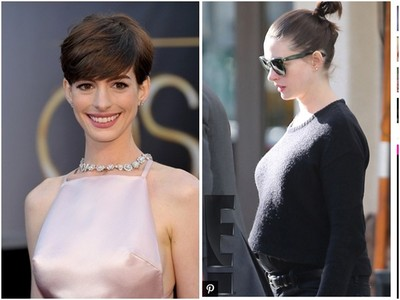 安海瑟薇懷孕了! 喜迎第1胎凸肚照片曝光