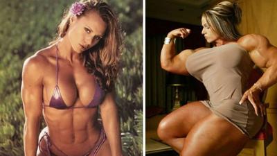 天使臉+筋肉身,她們是群愛好健身的萌萌女漢子