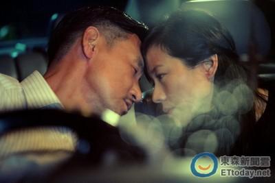 林嘉欣在車內激吻張學友 老公袁劍偉一旁從頭看到尾