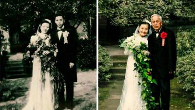 互許終身他們做到了!98歲爺奶重披婚紗這次許下輩子