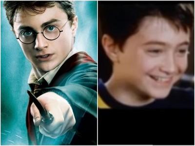 哈利波特10歲試鏡片段曝光! 丹尼爾害羞到直飆髒話