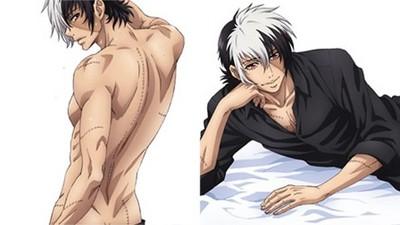 青年黑傑克等身抱枕,背上疤痕讓姐想抱他秀秀❤