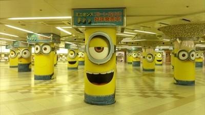 小小兵攻佔大阪車站 這次我決定挺柱!