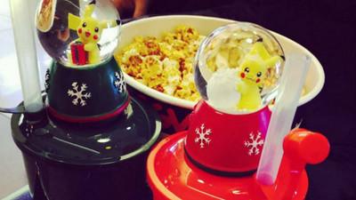 聖誕禮就決定是你了!把皮卡丘封進雪花球點亮黑夜