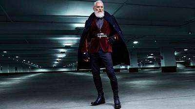 時尚聖誕老公公sexy爆表,媽我們一起飛多倫多吧~