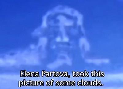 烏克蘭天空驚見十字架和耶穌的臉