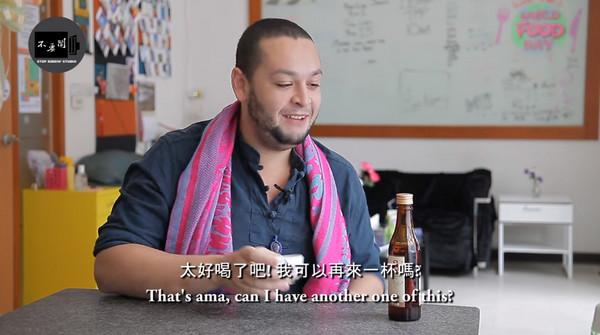 老外挑戰台灣4種名酒 法女剩下兩天要把台啤當水喝!