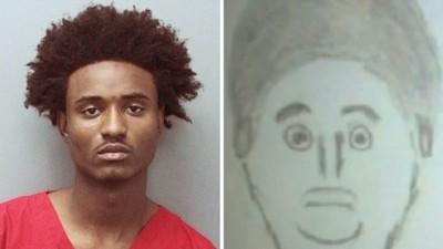 目擊者畫超瞎犯人肖像,警察還真的抓到殺人犯..