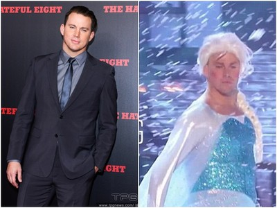 查寧塔圖美扮Elsa 挺巨胸雪中轉圈高唱《Let it go》