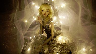 超擬真魅惑陶瓷娃,哀傷眼神藏著不同故事的靈魂