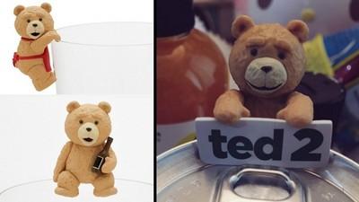 萌萌熊麻吉杯緣子,開喝時還有Ted陪乾杯!