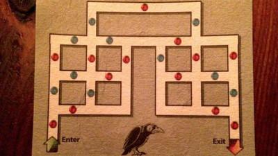 賭你會掉進無限循環蟲洞!規則「請依照紅→藍→紅」
