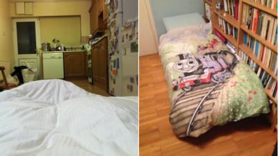 遊子回老家該睡哪?網友po文「今晚我只剩廚房」