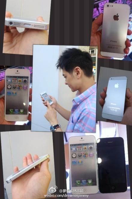 林志穎提前拿到iPhone5?(圖/翻攝自林志穎微博)