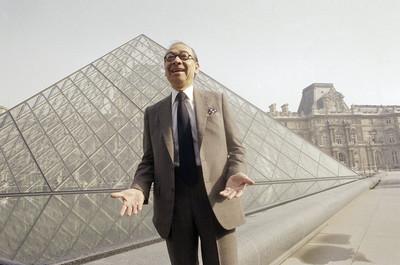 貝聿銘當年設計羅浮宮金字塔被嫌棄