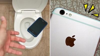 有天拉屎時弄掉手機,你的唉鳳6S+能拯救你嗎?