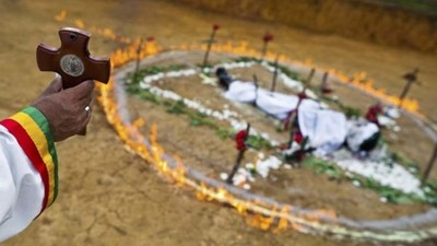 哥倫比亞古老驅魔術,今天依然詭異到讓人血液凝結