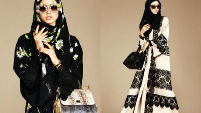 時尚品牌最新力作:頭巾&長袍展現中東女性之美