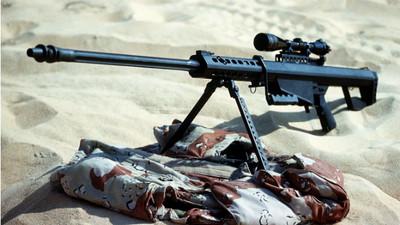 狙擊槍之王巴雷特 英特種靠這把「貫牆爆頭」IS渣