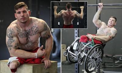 一出生就截肢 無腿健身教練:要相信自己能成功