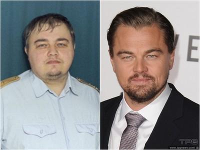 李奧納多失散兄弟找到了? 俄羅斯警察100%神撞臉