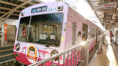 靜岡「櫻桃小丸子列車」期間限定出發!丸子迷快上車吧