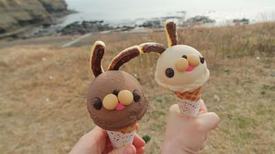 濟州限定「淒淒奔冰淇淋」再冷都要偷舔你的小臉頰❤