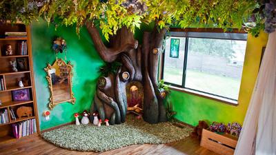妳是爸爸的小公主!他將女兒房間打造成絕美童話森林