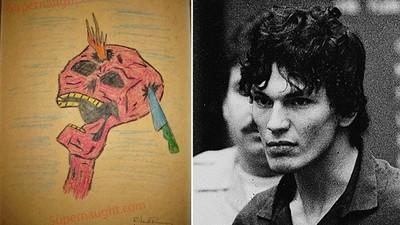 背14條人命的殺手「夜行者」,筆下圖畫帶著濃濃邪氣