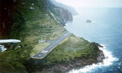 世界最短機場跑道,跑道總長比操場一圈還短