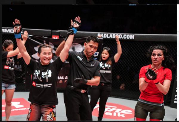 台女最強格鬥家黃偵玲 2017年有機會挑戰冠軍
