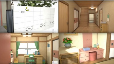 3D導覽野比大雄家 哆啦A夢的壁櫥裡面原來長這樣