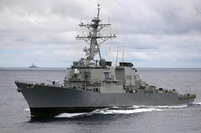 美軍艦二度穿台海 環時總編怒了