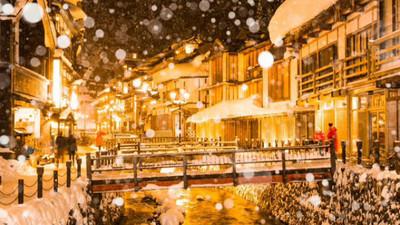 大雪降臨日本東北 白茫一片重現《神隱少女》場景