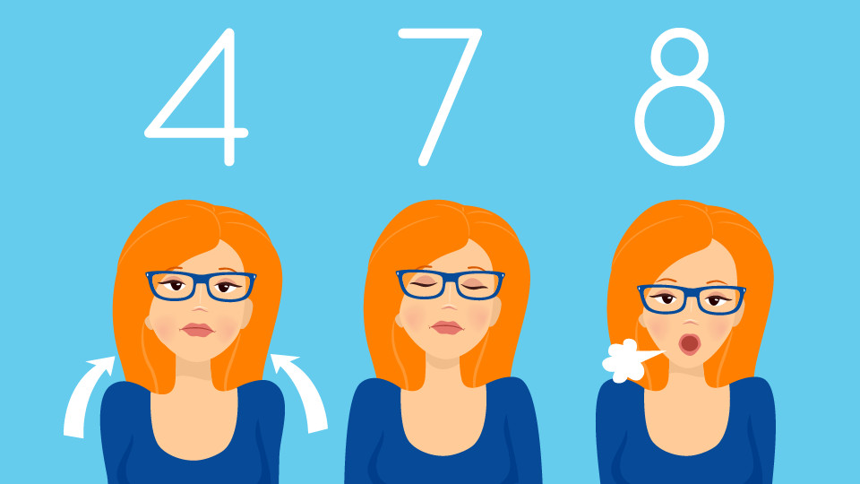 你有失眠困擾?「4-7-8」呼吸法助你一分鐘入睡