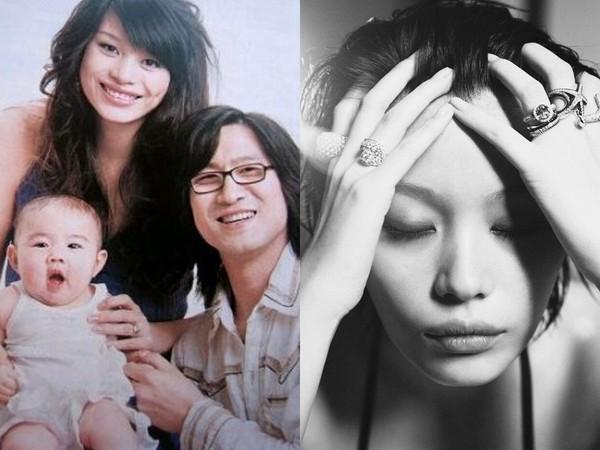 ▲葛薈婕爆料17歲被汪峰說服生下女兒,引起網路熱烈討論,她20日回覆網友別再吵,自己會擔著。(圖/翻攝自葛薈婕微博)