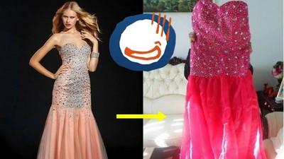 網購婚紗的悲劇…我記得買的是禮服不是舞衣啊இдஇ